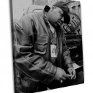 The Notorious B I G Music Art 16x12 Framed Canvas Print Decor