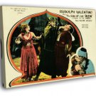The Son of the Sheik 1926 Retro Movie Vintage  20x16 FRAMED CANVAS WALL PRINT