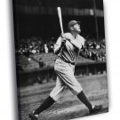 Babe Ruth New York Yankees Classic Retro WALL  20x16 FRAMED CANVAS PRINT