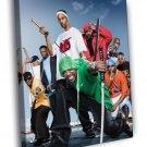 Wu-Tang Clan Rap Hip Hop Band WALL  20x16 FRAMED CANVAS PRINT