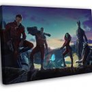 Guardians of the Galaxy Movie Characters Groot Rocket  20x16 FRAMED CANVAS WALL PRINT