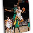 Stephen Curry Golden State Warriors Basketball WALL  20x16 FRAMED CANVAS PRINT