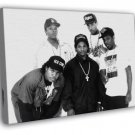 NWA Rare Ice Cube Dr Dre Eazy-E Yella MC Ren Gangsta  20x16 FRAMED CANVAS WALL PRINT