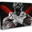 CM Punk Awesome Painting Art Phil Brooks Wrestling  20x16 FRAMED CANVAS WALL PRINT