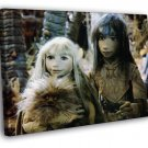The Dark Crystal 1982 Classic Movie Vintage WALL FRAMED CANVAS PRINT 20x16 inch