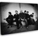 Linkin Park Mike Shinoda Chester Bennington Rock Band WALL FRAMED CANVAS PRINT 20x16 inch