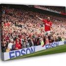 Juan Mata Amazing Spain Football Soccer Sport  20x16 FRAMED CANVAS WALL PRINT