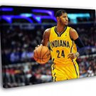 Paul George Indiana Pacers Basketball Sport  20x16 FRAMED CANVAS WALL PRINT