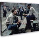 The Shawshank Redemption 1994 Best Movie Jail  20x16 FRAMED CANVAS WALL PRINT