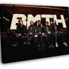 Bring Me The Horizon BMTH Oliver Sykes Metalcore  20x16 FRAMED CANVAS WALL PRINT