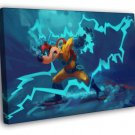Megavolt Darkwing Duck Cool Amazing Art WALL FRAMED CANVAS PRINT 20x16 inch