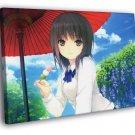Cure Girl Aoyama Sumika Hot Anime Manga WALL  20x16 FRAMED CANVAS PRINT