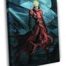 Vash The Stampede Trigun Painting Art Anime Manga Art WALL  20x16 FRAMED CANVAS PRINT
