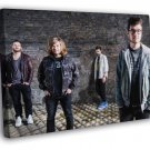 Bastille Will Farquarson Wood Simmons Smith Rock Band WALL FRAMED CANVAS PRINT 20x16 inch