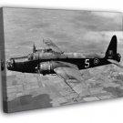 Vickers Wellington Bomber Airplane Aircraft War WW2 WALL  20x16 FRAMED CANVAS PRINT