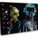 Daft Punk Electronic Music WALL  20x16 FRAMED CANVAS PRINT