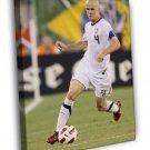 Michael Bradley USA Football Soccer Sport FRAMED CANVAS WALL PRINT 20x16 inch