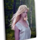 Elle Fanning Hot Beautiful Cute Young FRAMED CANVAS WALL PRINT 20x16 inch