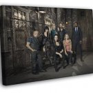 Lost Girl Characters TV Series FRAMED CANVAS WALL PRINT 20x16 inch
