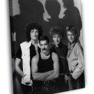 Queen Brian May John Deacon Roger Taylor Mercury WALL  20x16 FRAMED CANVAS PRINT