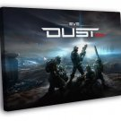 Eve Dust 514 Video Game  20x16 FRAMED CANVAS WALL PRINT