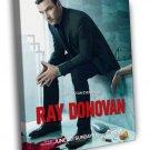 Liev Schreiber Ray Donovan Actor Tv Series WALL  20x16 FRAMED CANVAS PRINT