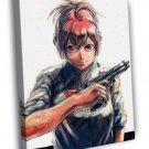 Sabagebu! Survival Game Club! Painting Anime WALL  20x16 FRAMED CANVAS PRINT