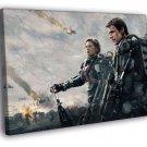Edge of Tomorrow Tom Cruise Movie FRAMED CANVAS WALL PRINT 20x16 inch