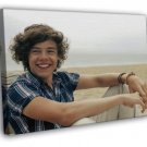 Harry Styles One Direction 1D Band Music FRAMED CANVAS WALL PRINT 20x16 inch