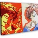 Ouran High School Host Club Kaoru Hitachiin Anime Art  20x16 FRAMED CANVAS WALL PRINT
