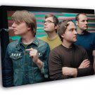 Death Cab For Cutie Alternative Indie Pop Rock Band  20x16 FRAMED CANVAS WALL PRINT