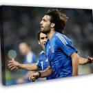 Georgios Samaras Goal Celebration Greece Football  20x16 FRAMED CANVAS WALL PRINT