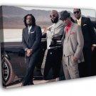 Maybach Music Group MMG Rick Ross Rapper Rap  20x16 FRAMED CANVAS WALL PRINT