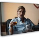 Rust Cohle Matthew McConaughey True Detective 2014  20x16 FRAMED CANVAS WALL PRINT