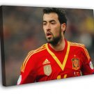 Sergio Busquets Spain Football Soccer Sport  20x16 FRAMED CANVAS WALL PRINT