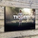The first messi Decor  20x16 FRAMED CANVAS PRINT