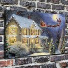 Night Before Christmas Paintings Decor  20x16 FRAMED CANVAS PRINT
