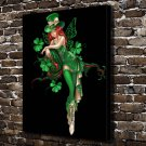 The angel is dancing Decor  20x16 FRAMED CANVAS PRINT