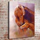 Every Love Animal FRAMED CANVAS PRINT CA 20x16 inch