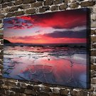 Red one day FRAMED CANVAS PRINT CA 20x16 inch