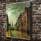 Beautiful city  20x16 FRAMED CANVAS PRINT