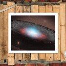Colliding Black Holes Painting  20x16 FRAMED CANVAS PRINT