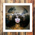 The of fantasy FRAMED CANVAS PRINT CA 20x16 inch