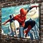 Spider man  20x16 FRAMED CANVAS PRINT