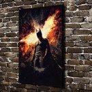 DC Batman Paintings FRAMED CANVAS PRINT CA 20x16 inch