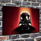 Star wars dh vader Paintings FRAMED CANVAS PRINT CA 20x16 inch
