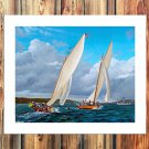 Andrew S.Walton FRAMED CANVAS PRINT CA 20x16 inch