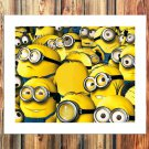 Minions 2015 paper  20x16 FRAMED CANVAS PRINT
