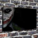 Joker Smile Painting  20x16 FRAMED CANVAS PRINT