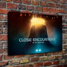 Close Encounters Painting  20x16 FRAMED CANVAS PRINT